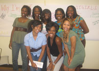 YWLC members at workshop
